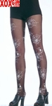 Glow In The Dark Imprints Sheer Pantyhose  LA 7260