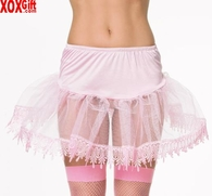 Petticoat With Spiked Lace Ends LA 8999S