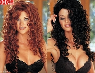 Sexy Hollywood Starlet Long Curly Wig 843