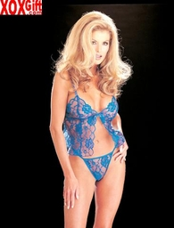 Lace Cami & G-String Lingerie R-96668