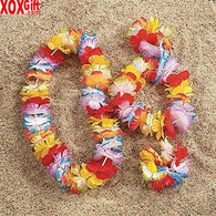 Bright Jumbo Flower Lei OT34-265