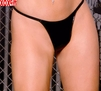 Womens Plus Size Vinyl g-string EM V9227X