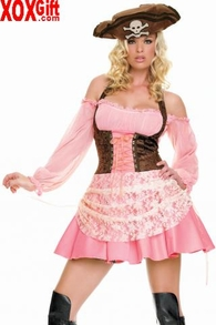 Captain's Wench Costume LA 83231
