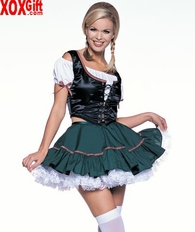 3 Pc Fraulein Girl LA 8985