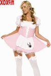 Plus Size Womens Little Miss Muffett Costume LA 8908X