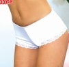 Cotton shorts With lace ruffle trim EM 2581