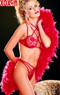 Hot, Sexy Fantasy Feather Boa R-95