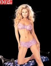 Stretch Lace Crop Top & Boy Short Panty Set R 6862