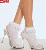 Anklets With Lace Ruffle LA 3013
