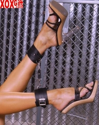 Leather ankle restraints EM L9163