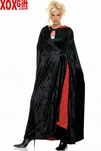 Cape Reversible Velvet Cloak With Hood LA 8926