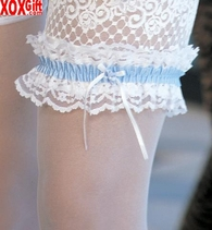 Bridal Leg Garter With Gift Presentation Bag 14