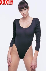 Long Sleeved Bodysuit With Snap Closure LA 8764