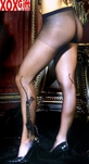 Womens Tiger Sheer Pantyhose EM 1706