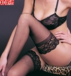 Sheer Stockings With Lace Top LA 1011