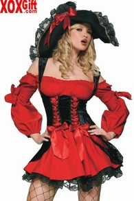 Vixen Pirate Wench Costume LA 83157