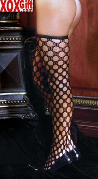 Womens Crochet Thigh Highs EM 1709