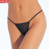 Mesh Low Rise String Thong Panty LA 2605