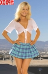 Plus Size School Girl Fantasy Costume EM 9174X