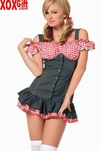 Mary Lou Peasant Top Dress Costume LA 83181