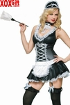 Naughty French Maid Costume LA 83147