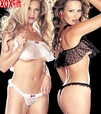 Hot Crop Top & Panty Lingerie R-96765
