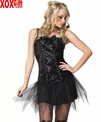 Womens Gothic Nymph Costume LA 83087