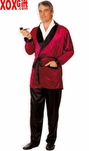 Burgandy Man Of The Mansion Fantasy Costume 7436