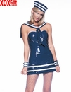 4 Pc Sailor Tube Dress LA V8981