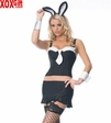 Womens Bunny Gangsta Girl Costume LA 83045