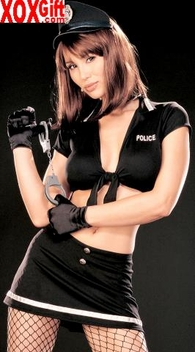 Hot Police Woman Costume   R-96834