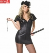 Womens Vinyl Officer Costume LA 83111