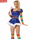 Womens Starburst Girl Costume LA 83090