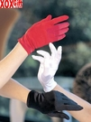 Wrist Length Stretch Satin Gloves R 220