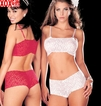 Lingerie Set With Boy Shorts R-96727
