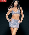 2 Pc Sequined Hologram Sparkling Bikini Top With Matching Skirt LA 8479