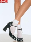 Satin Cuff Anklets Tea Party Apparel LA 3022