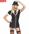 Womens Gangsta Girl  Costume LA 83071