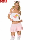 Womens Cuddly Teddy Bear Costume LA 83056