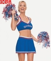 Cheerleader Costume With Pom-Poms LA 8932