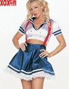 2 Pc Sailor Girl Outfit LA 8892