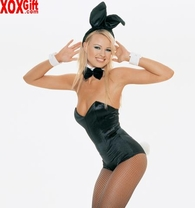 Playboy Bunny Costume! Sexy Play Boy Adult Fantasy Outfit! LA 8236