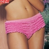Ruffled Rhumba Style Hot Pants Panties LA 2750