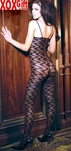 Womens Open Crotch Wave Bodystocking EM 1620
