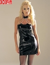 Vinyl Chain Choker Dress LA V5066