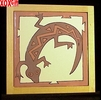 Lizard Hand Painted Decorative Tile Lizard