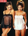 Baby Doll With Lacy Bust & G-String  R-96101