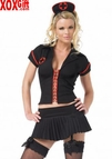 Womens Gothic Nurse Costume LA 83131