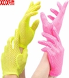 Wrist Length Fishnet Gloves LA G9011