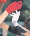 Wrist Length Satin Gloves LA 2B